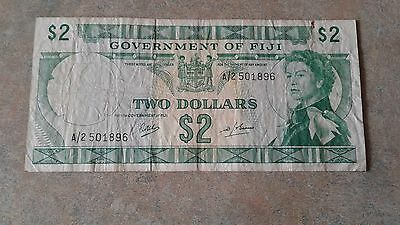 Government Of Fiji $2 Note