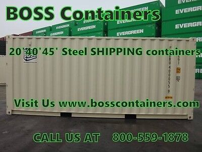 VERY cheap PRICES for STEEL shipping CONTAINERS! At Buffalo/ New york