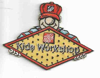 Home Depot Kids Workshop Patch - New