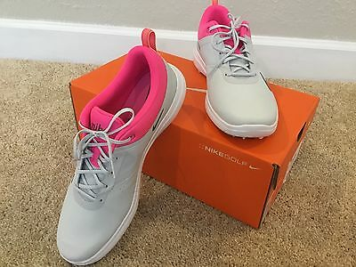 Nike Akamai Athletic Golf Shoes Women's Size10M Multicolor Synthetic