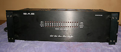 SAE 2200 Power Amplifier Excellent Condition