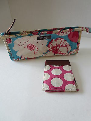 Kate Spade pencil pouch & J Crew credit card holder