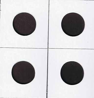 """100 2""""x2"""" Cardboard MYLAR Coin Protector Holder Available in Various Sizes"""