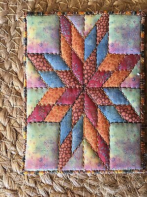 ACEO Original Textile art from Private Collection - Artist Lisa M Penny ('08)