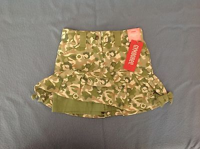 GYMBOREE NWT SIZE 3 Skirt with shorts attached