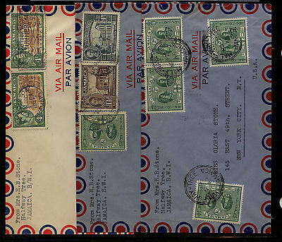 Jamaica   3  covers   to   US             KEL1208