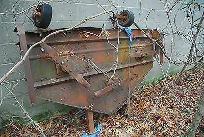 Woods 6 Foot Belly Mower Deck International Harvester Farmall Ford Tractor Mower