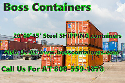 45' HC CW Cargo CONTAINER Storage CONTAINERS for Sale At Savannah Georgia Area