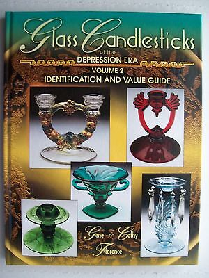 VINTAGE GLASS CANDLE STICKS PRICE GUIDE COLLECTOR'S BOOK Candlesticks Hardback