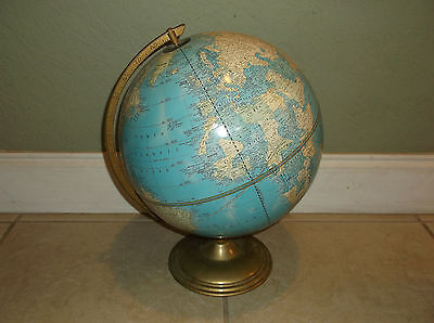 Vintage Cram's Imperial World Globe/made In Usa