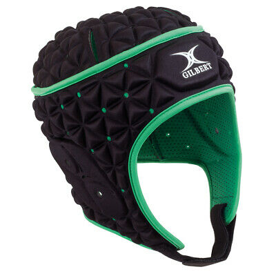 Gilbert Ignite Revolution Rugby Headgear - BLACK + FREE AUS DELIVERY