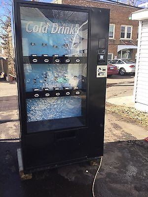 Vendo Cold Pop Drink Vending Machine 10 Select sell Pepsi Coke cans bottles