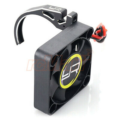 Yeah Racing Aluminum 7075 Fan Mount 40mm Tornado Fan 540 Motor Black #YA-0526BK