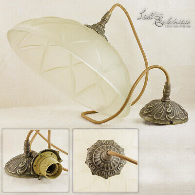 Premium Hanging Light Made of Brass Antique Striking Glass Pendant Ceiling Lamp