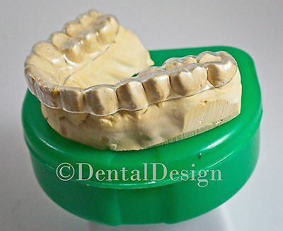 Professional Custom THIN HARD Night Guard Grinding Clenching Dental Bruxism