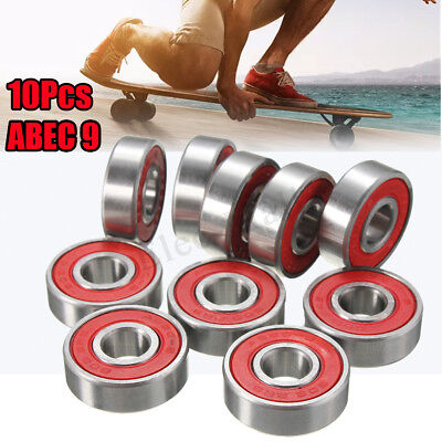 10/20/50/100 x Roller Skate Skateboard Ball Wheel Bearing 608 RS 2RS  ABEC 5 7 9