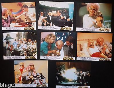 Les Patterson Saves The World  Lobby Card Set Of 8 Dame Edna Everage 1987