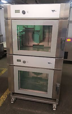 Wiesheu B04-EM, Double Stack Convection Steamer Oven