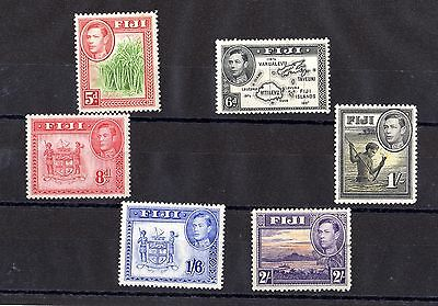 Fiji KGVI 1938 Collection of Mint Values X5882