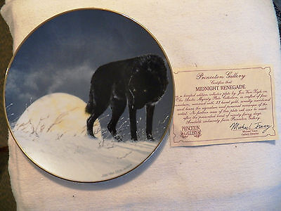 The Artic Majesty Plate. Princeton Gallery. Midnoiight Renegade. With Certif.