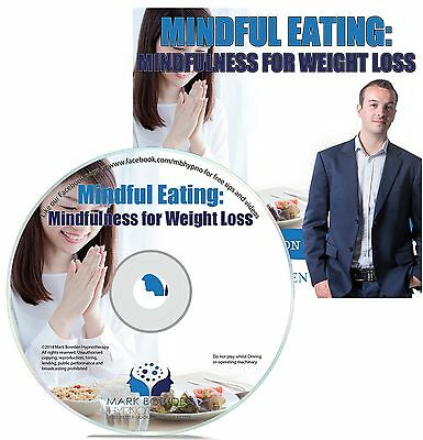 Mindful Eating Hypnosis CD + FREE MP3 VERSION help you lose weight / fat loss