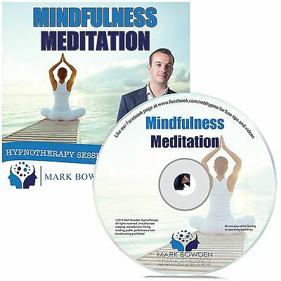 Mindfulness Meditation Hypnosis CD + FREE MP3 VERSION Relax relaxation yoga
