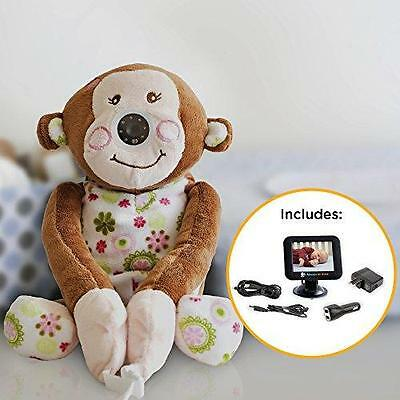 "Infanttech 1000-BM Always-in-View 3.5"" Monkey Video Baby Monitor For Home & Car"