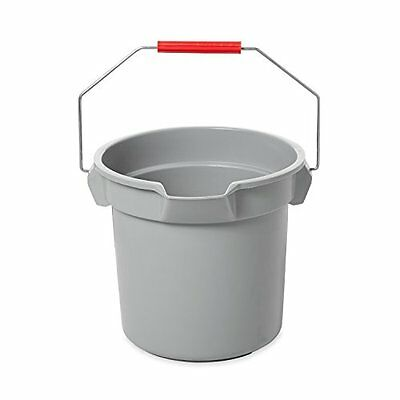 Rubbermaid Buckets Commercial BRUTE Bucket, 14-Quart, Gray Fast shipping Free
