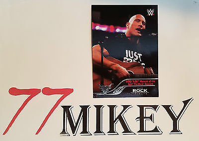 2016 Wwe Topps Then Now Forever Rock Tribute Pick 1 From The List For $2.50