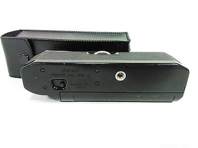Canon Power Winder Afor the Canon A Series with OEM case