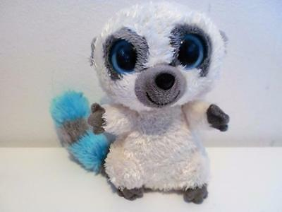 Rare Ty Beanie Boos Plush Soft Toy Doll Cleo The Cream Lemur Bush Baby 2009 6""