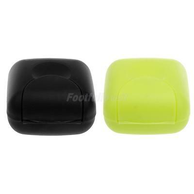 2Pcs Soap Dispenser Dish Case Holder Container Box for Home Bathroom Travel