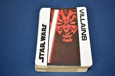Star Wars Villains Playing Cards 52 Made in USA