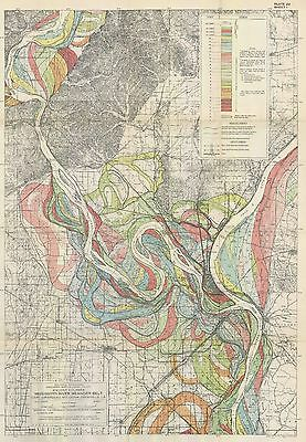 FISK REPORT Mississippi River 1944 Alluvial 60 MAPS ANCIENT MEANDERINGS DVD