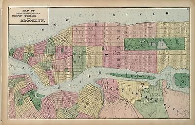 1873 maps Atlas of Long Island New York land ownership plats county DVD T9