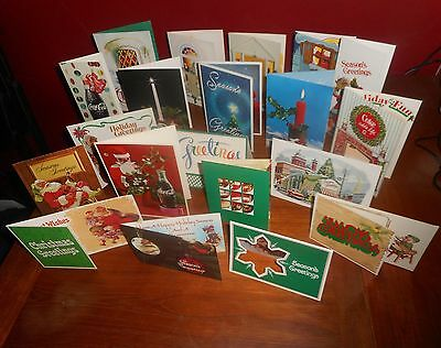 Coca Cola 1960s & 70s Collection Of 20 Bottling Plant Greeting Cards