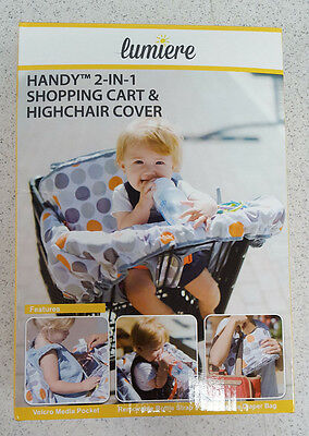 Baby shopping cart and/or High chair cover