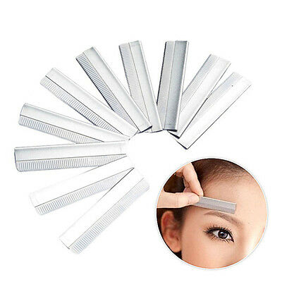 10PCS Eyebrow Blade Razor Trimmer Face Hair Remover Womens Bikini Shaver Shaper