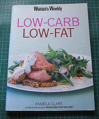 AWW Australian Women's Weekly Low Carb Low Fat Cookbook recipes womens VGC..