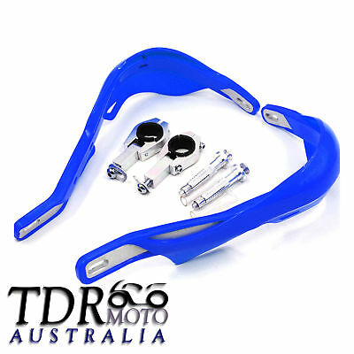 Blue Hand Guards Handguard Scooter ATV Motorcross Motorcycle Bike 22 28mm Bar