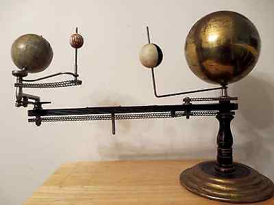 1908 Pat. Original Trippensee Planetarium/Globe and Container