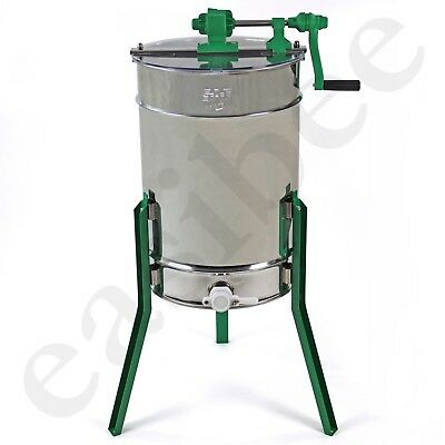 Honey Extractor Manual 6 Frame Stainless Steel Radial Beekeeping Easipet 380