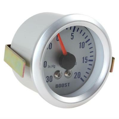 2Inch 52mm Auto Car Motor Turbo Boost Pressure 0-30in.Hg/0-20PSI Gauge Meter 12V