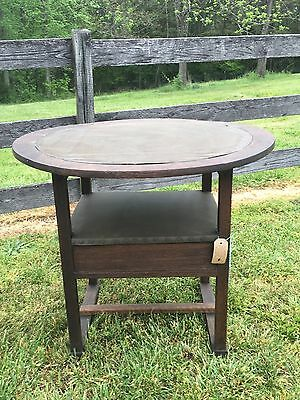 Fantastic Oak Mission Arts & Crafts Convertible Chair / Table