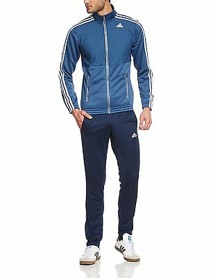 Mens adidas Tracksuit TS Train Top And Bottoms Climalite® Size Small & XXL NEW