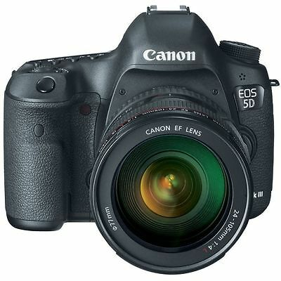 Canon EOS 5D Mark III 22.3 MP Full Frame CMOS Digital SLR Camera with EF 24-105m