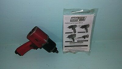 """EarthQuake Central Pneumatic 1/2"""" Professional Air Impact Wrench 62627"""