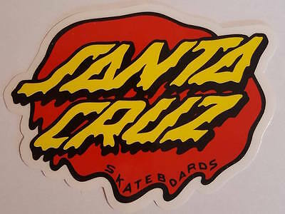 *** Santa Cruz Skateboards - Skateboard Sticker - Slime Dot - ca.7x9cm ***