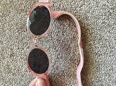 Baby Girl Sunglasses Pink With Strap