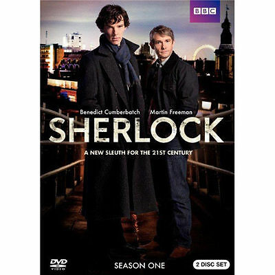 Sherlock: Complete Series 1 One (DVD, 2010, 2-Disc Set) NEW